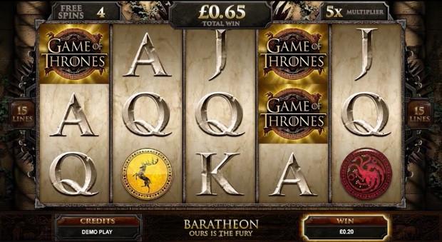 Der Game of Thrones Slot ist jetzt online!