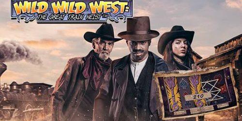 NetEnt kündigt Slot The Wild Wild West: The Great Train Heist an