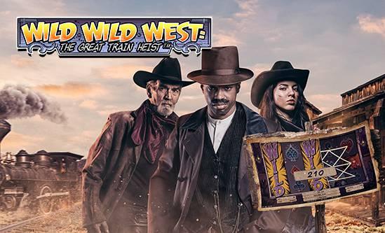 Spiele den Wild Wild West: The Great Train Heist Slot
