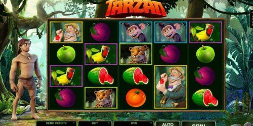 Tarzan-Slot von Microgaming kann bei Lapalingo gespielt werden