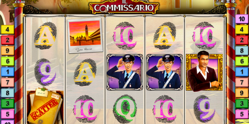 Il Commissario Spielautomat von Novoline