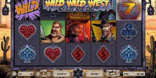Der Slot zum großen Eisenbahnraub – Wild Wild West The Great Train Heist